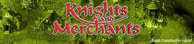 Dé Knights and Merchants site